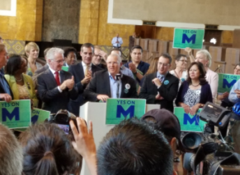 Good Election News: Measure M Passes
