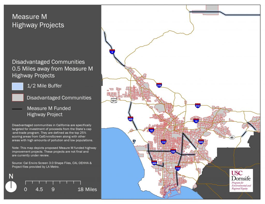 Measure M's Highway Expansion Projects Put Disadvantaged Communities at Greater Risk